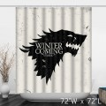 Game of Thrones Stark Bathroom Shower Curtain