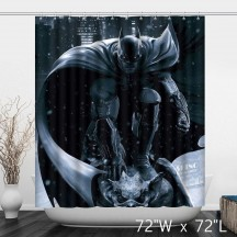 Domineering And Powerful Batman The Dark Knight Shower Curtain