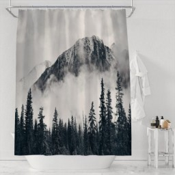 National Parks Home Decor Shower Curtain By Canadian Smokey Mountain
